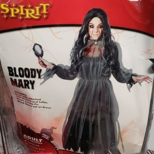 Spirit Bloody Mary costume adult large 10-12 new